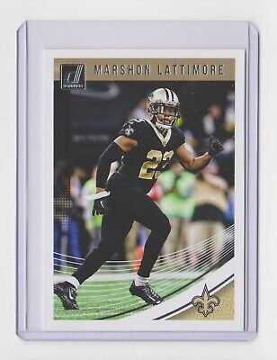 2018 Donruss Marshon Lattimore Base Card - Card  197 - Saints - Free  Shipping 5ce327455