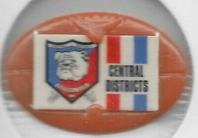1969 VFL Twisties Emblem Pin / Badge CENTRAL DISTRICTS