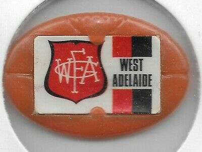 1969 VFL Twisties Emblem Pin / Badge WEST ADELAIDE