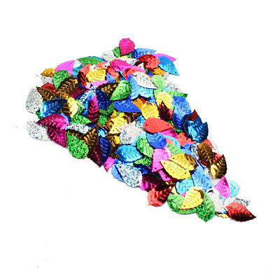 200pcs Sequins Leaves Sewing Scrapbooking Craft Confetti Christmas Sequins