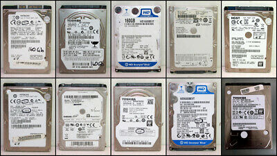 10x Assorted 2.5 inch 160GB 250GB 500GB 640GB 1TB SATA HDD Hard Disks