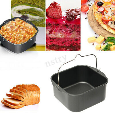 Cooking Accessories Baking Dish Pizza Pan Skewers Rack Kitchen For Air Fryer AU