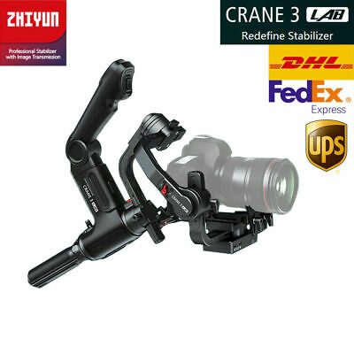 ZHIYUN Crane 3 Lab 3-Axis Hand-held Gimbal Stabilizer For DSLR Camera Canon Sony