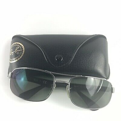 b32cef3357 Ray-Ban RB3445 Sunglasses Prescription Lens Gunmetal Designer Sun Shades