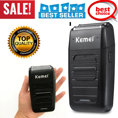 KEMEI KM-1102 Men's Rechargeable 2 Blade Floating Electric Shaver Beard Trimmer