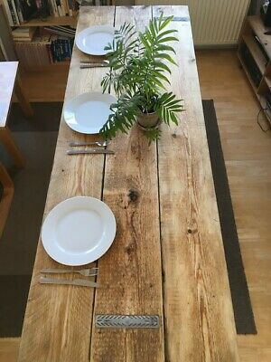 Wooden Trestles Tables from reclaimed wood. Ideal for wedding tables.Rustic!