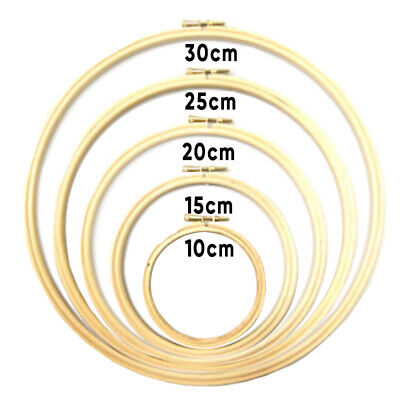 Frame Hoop Ring Embroidery Cross Stitch Sewing DIY Tool Art Craft Accessories