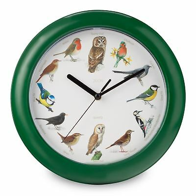 Bird Song Musical Wall Clock Authentic Song Announces Every Hour Free P+P