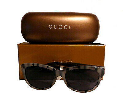 ea0289b71d Gucci Sunglasses GG 3758 YZ9 Grey Tortoise Smoke Lens with Case NWT MSRP   340