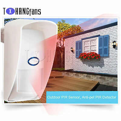 Wireless 433MHZ Security Pet Immune Motion PIR Sensor for Infrared Detector ATF