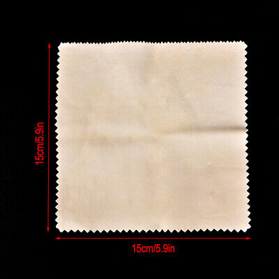 Silver Polishing Cloth Cleaner Jewelry Cleaning Cloth Anti-Tarnish Tool 15*15cm#