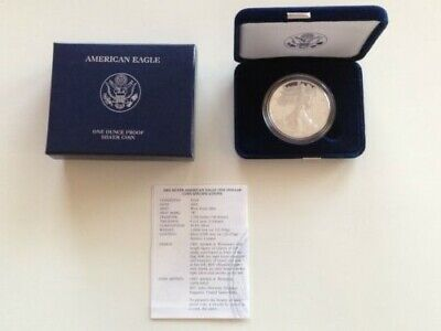 2003 American Silver Eagle 1 oz  Proof Coin - OGP