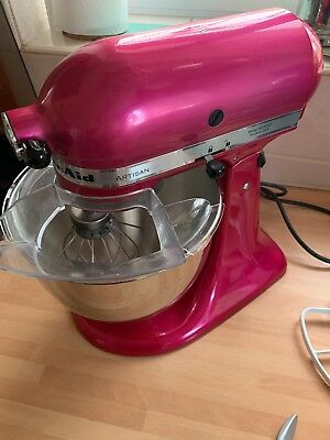 Kitchenaid Artisan 5ksm150 4 8 L Contour Raspberry Ice Stand Mixer