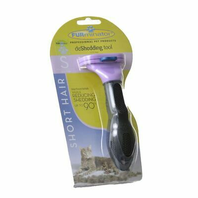 FURminator deShedding Tool with Fur Ejector for Small or Large Cats in 4 styles