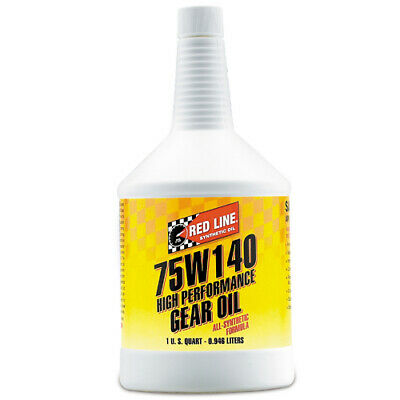 Red Line Oil 57914 Synthetic 75W140 Gear Oil 1 Quart