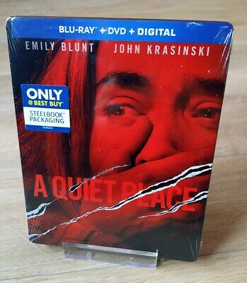 A Quiet Place Blu-ray Steelbook Best Buy Exclusive New Sealed
