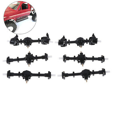 Metal gear sturdy axle assembly spare part for WPL FY0011:16 RC military truckr*
