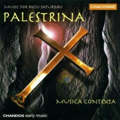1-Cd Palestrina - Music For Holy Saturday - Musica Contexta (Condition: New)
