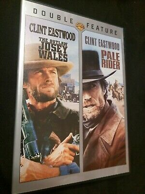 2 CLINT EASTWOOD Westerns The OUTLAW JOSEY WALES and PALE RIDER 2-Disc DVD Set