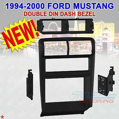 1994-2002 Ford Mustang Car Stereo Radio Double Din Installation Dash Kit Bezel