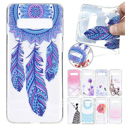 For Samsung S10 Plus S10e S10 Case Pattern Soft Gel Rubber Slim Shockproof Cover
