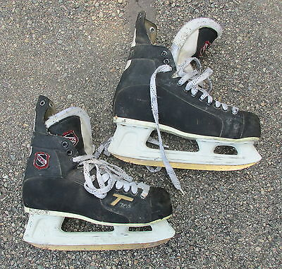 a64177a6e0d Used Ccm Tacks Supreme Ice Hockey Skates ~ Size 7