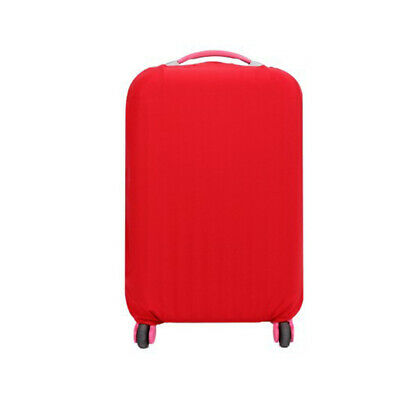 Travel Trolley Case Elastic Solid Luggage Suitcase Protector Cover Red S #ur