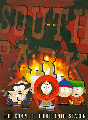 South Park: The Complete Fourteenth Season (DVD, 2011, 3-Disc Set) NEW SEALED