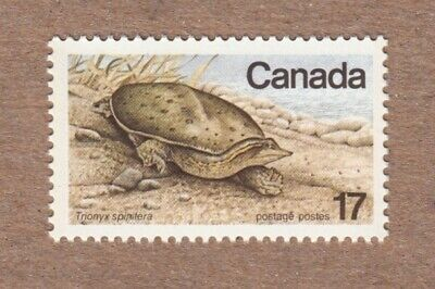 Spiny Soft Shelled TURTLE, Endangered Wildlife - Canada 1979 MNH #813 q07