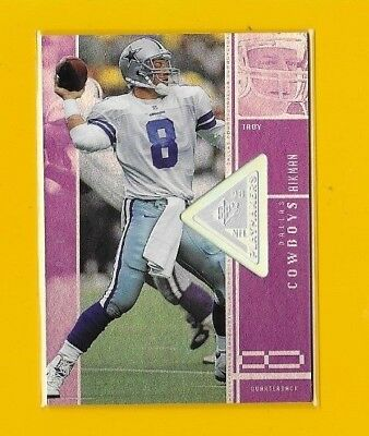 24543 Troy Aikman 1998 Spx Finite Spectrum #98 Dallas Cowboys 🏈 #547/1375 Bk$20