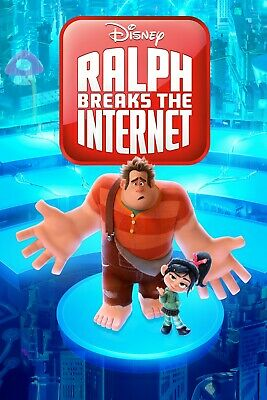 Ralph Breaks the Internet Digital Movie code HD iTunes for Canada only *READ*