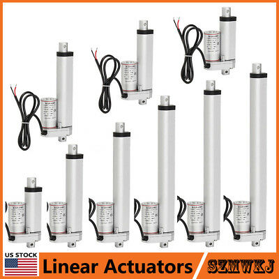 1000N 1500N Linear Actuator 12V Electric Motors for Auto Lift Window Door Opener