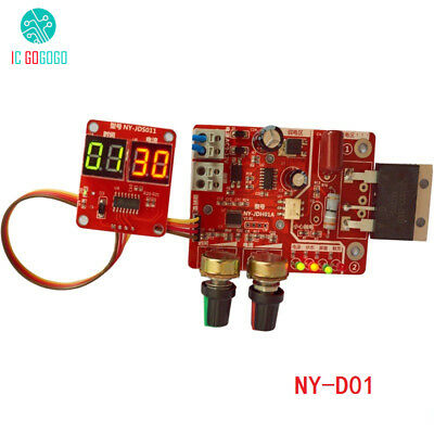 100A Spot Welding Machine Time Current Controller Control Panel Board Module Kit