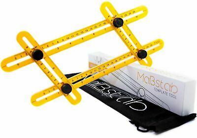 Amenitee Universal Angularizer Ruler Easy Angle Ruler-Multi Angle Measuring Tool