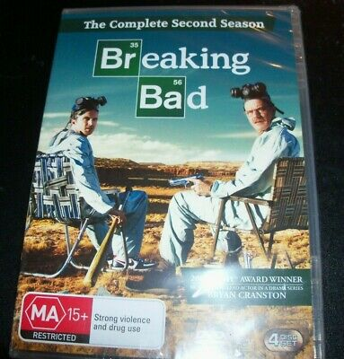 Breaking Bad The Complete Second Season Two 2 (Australia Region 4) DVD – New