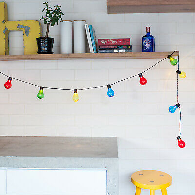 60-180 LED Plug In Connectable Festoon Lights Indoor & Outdoor Use by Lights4fun