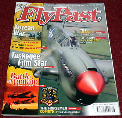 Flypast Magazine 2009 August Battle of Britain,Korean War B-26,P-51 Mustang