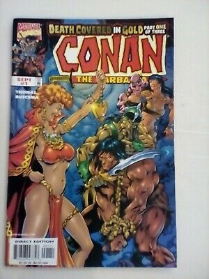 Conan the Barbarian - Death Covered in Gold #1 - MARVEL -1999 - MINT CONDITION
