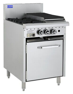 LUUS Essentials 2 Burner 300mm Chargrill & Oven Pilot Flame Fail CRO-2B3C-P NG