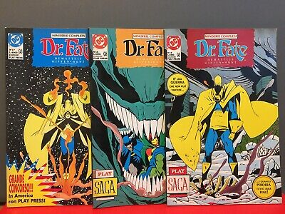 Dr. Fate - Miniserie Completa # 15  # 16 # 17  Dc Playpress -