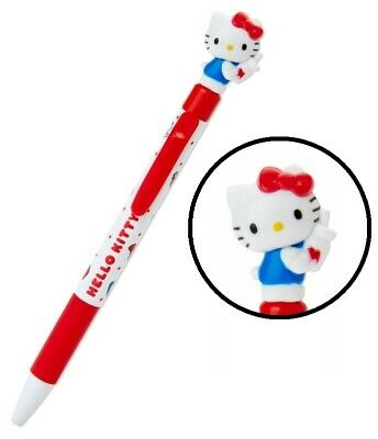 Details about  /Hello Kitty Sanrio Mascot Swing Ballpoint Pen Black Ink ship w//tracking#