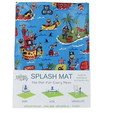 Splash Mat Highchair Mat Food Catcher Pirates