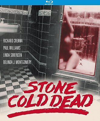 Stone Cold Dead Richard Crenna Paul Williams Linda Sorensen New Sealed Blu-Ray