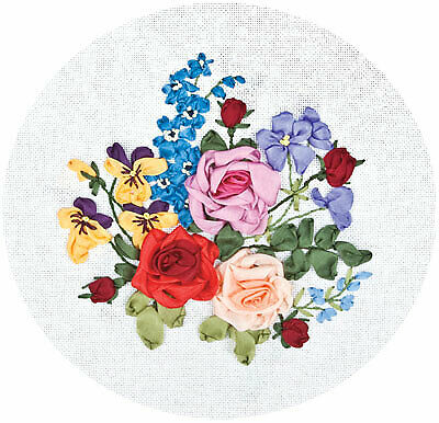 Panna Ribbon Embroidery Kit - C-1179 Midsummer