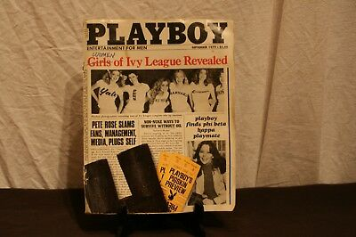 Ancien Magazine Playboy.