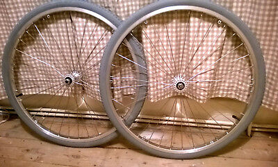 Wheelchair Quick Release Pair of Spoke Wheels SUN Sunrise medical L20 24 inches