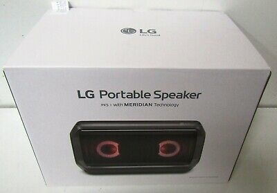 Brand New LG PK5 Portable Bluetooth Speaker with Meridian Technology August 2018