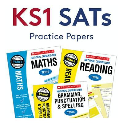 2019 KS1 SATs Revision Books - Practice Papers for Maths, English & SPaG