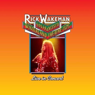 Rick Wakeman - Live At The Winterland Theatre,1975   Cd New