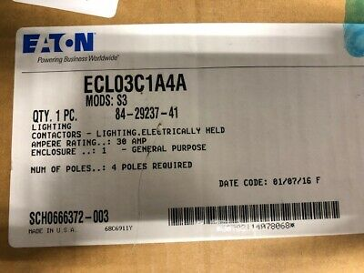 ECL03C1A4A Lighting Contactor